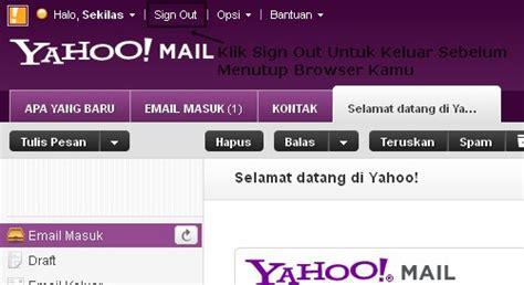 membuat signature pada yahoo mail cara membuat email di yahoo sekilas populer