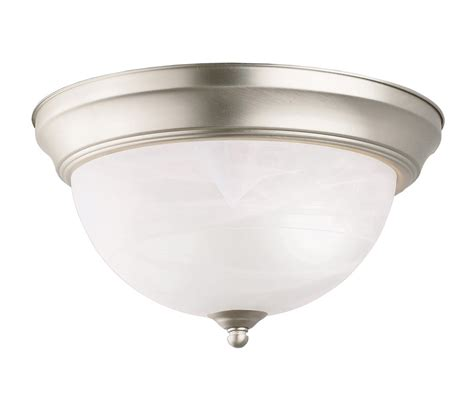 Flush Mounted Ceiling Light Fixtures Kichler 8108ni Flush Mount Ceiling Fixture