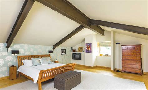 barn conversion bedroom cotswolds barn conversion homebuilding renovating