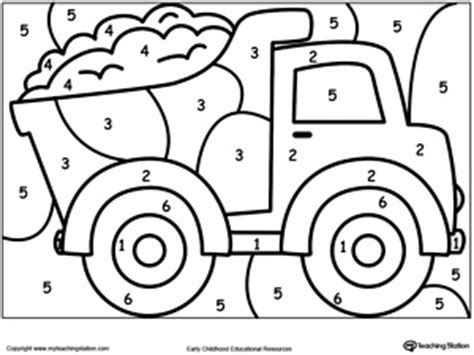 Color By Number For Boys Free Number Coloring Sheets For Kindergarten Number Coloring by Color By Number For Boys Free