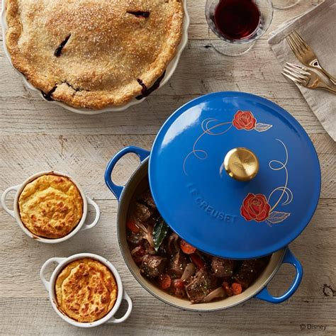 beauty and the beast le creuset limited edition beauty and the beast le creuset cookware