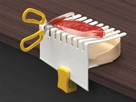 One Handed Kitchen Equipment by Creative Cutting Aids Enamor By Grace Lim