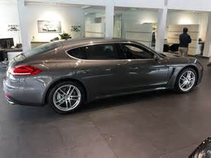 Porsche Panamera 4 Door 2014 Porsche Panamera 4s Executive Hatchback 4 Door 3 0l