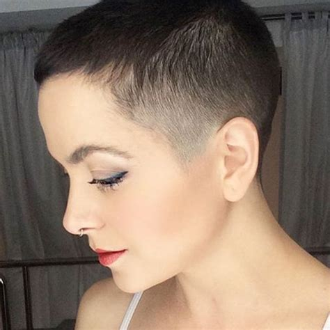 female crew cut hairstyles 227 best images about ultra short crops on pinterest