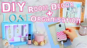 Diy Bedroom Decorating Ideas For Teens diy room decor and organization 2016 youtube