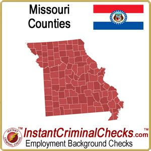 Criminal Record Check Missouri Missouri County Criminal Background Checks Mo Court