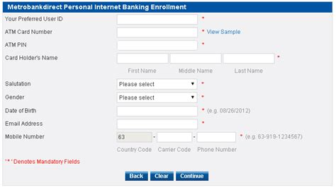 Credit Card Application Form Metrobank 5 Easy Steps To Enroll In Metrobank Banking