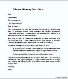 marketing sales cover letter sales to marketing cover letter