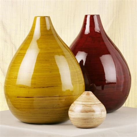 Bulbs In Vases by Large Bulb Vase