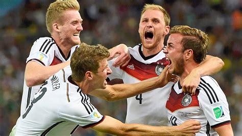 wann war deutschland weltmeister wm finale deutschland ist fu 223 weltmeister zeit