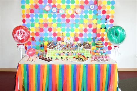 sweet themed event design candy candyland candy land birthday party ideas