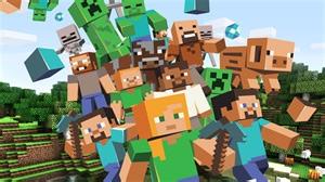 Minecraft an open world video game minecraft 3d procedurally generated