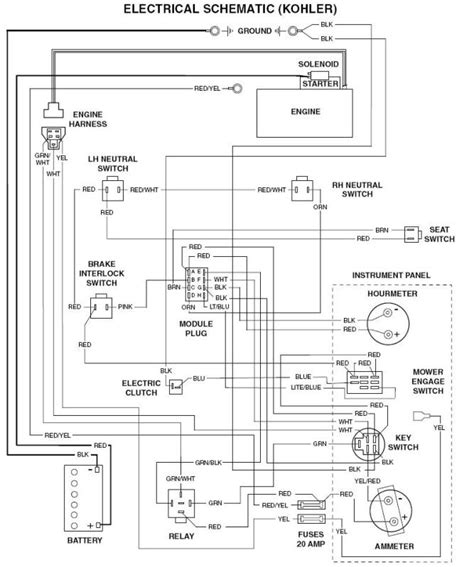 scag turf tiger wiring diagram scag get free image about