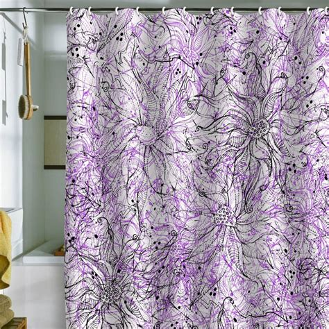Shower Curtains With Purple 103 Best Shower Curtains Images On Purple Shower Curtains Bathroom Ideas And