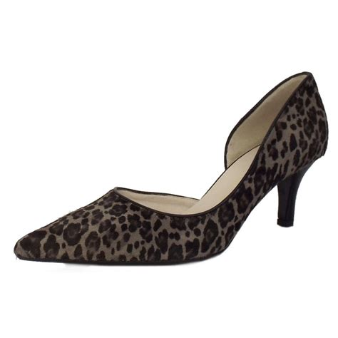 leopard print shoes for kaiser sadin leopard print leather shoes mozimo