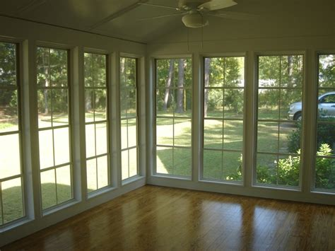 Sun Porch Windows Designs Some Important Suggestions To Transform An Open Columned Porch Into A Sun Room Home
