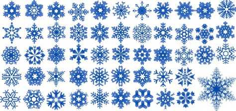 snow pattern brush snowflake clipart illustrator pencil and in color