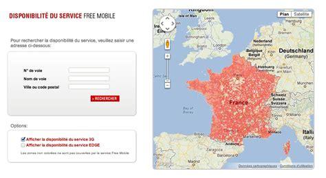 free mobile et la carte de sa couverture r 233 seau