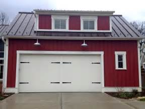 modern style garage plans red farmhouse with galvanized barn lights from barnlightelectric com rustic charm pinterest