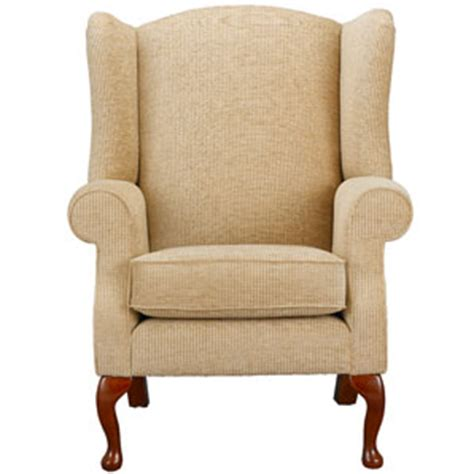 In An Armchair by Lewis Oberon Armchair Oatmeal Furniture Store