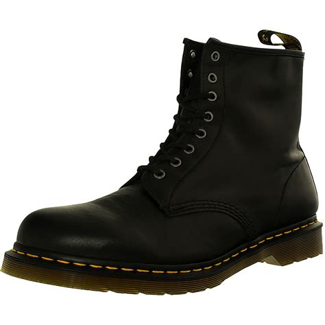 Leather 1460 8 Eye Boots dr martens s 1460 8 eye m ankle high leather boot ebay