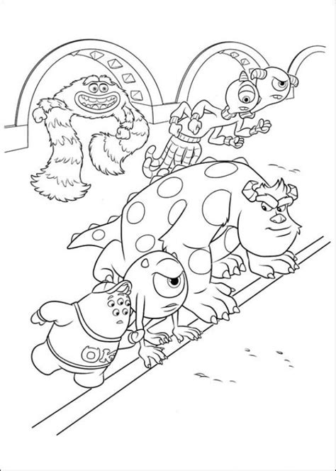Monsters U Coloring Pages by N 45 Coloring Pages Of Monsters