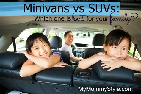 minivans  suvs       family