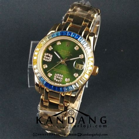 Jam Tangan Rolex Oyster jam tangan rolex oyster perpetual pearlmaster 39 gold