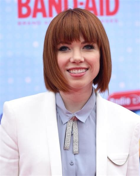 carly rae jepsen new haircut 2015 carly rae jepsen b o b carly rae jepsen looks stylebistro