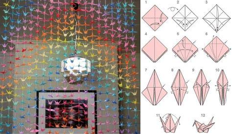 How To Make A Paper Crane Mobile - diy origami crane mobile tutorial usefuldiy
