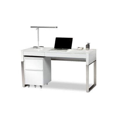 White Lacquer Desk With Drawers by Cascadia Writing Desk White Lacquer Desk Drawers And Desks