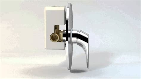 smontare soffione doccia miscelatore incasso doccia 2030 ch h2omix2000