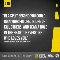 Here s reason 16 not to text amp drive a quote from a mother of a