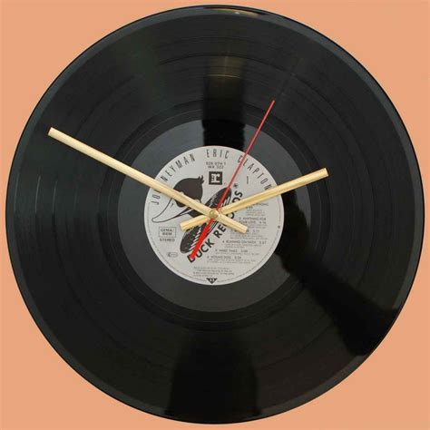 Eric Clapton Vinyl - eric clapton vinyl lp record album clock time by