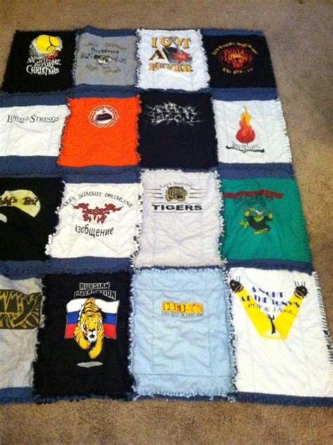 t shirt rag quilt pattern how to make a tshirt quilt 19 diy tutorials guide patterns