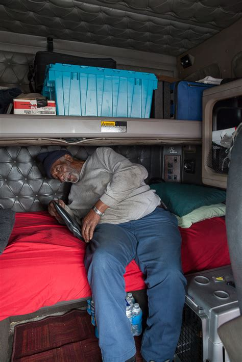 Inside Of An 18 Wheeler Sleeper by Photos From Inside The Cabs Of Distance Truckers Vice