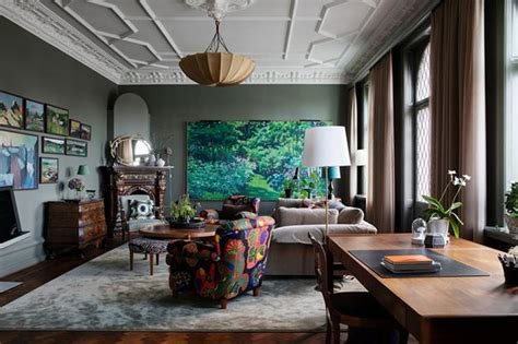 colorful interior decorating ideas dark room colors
