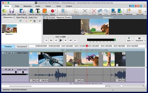 video editing software free download full version softpedia download videopad video editor and movie maker for mac 6 03