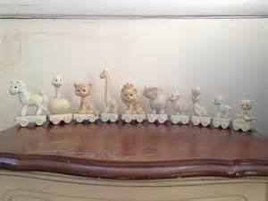 precious moments birthday train figurine collection