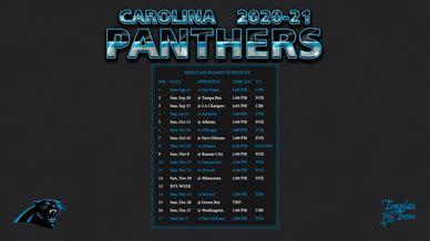 carolina panthers wallpaper schedule