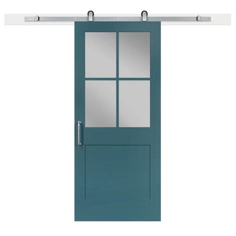 jeff lewis barn doors jeff lewis 36 in x 84 in pacific 1 panel 1 2 lite