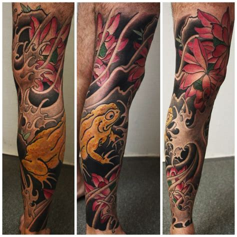 oriental tattoo designs leg japanese frog tattoo japanese full body tattoo