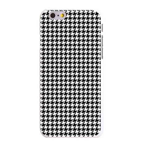 Iphone 6 6s Plus Battik Pattern Black Hardcase custom cover for iphone 5 5s 6 6s plus black white houndstooth pattern ebay