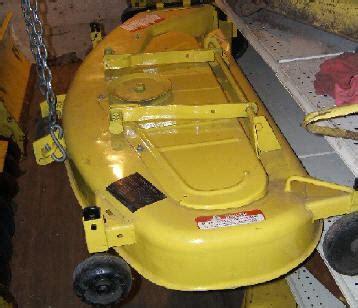 identifying jd  mower deck mytractorforumcom