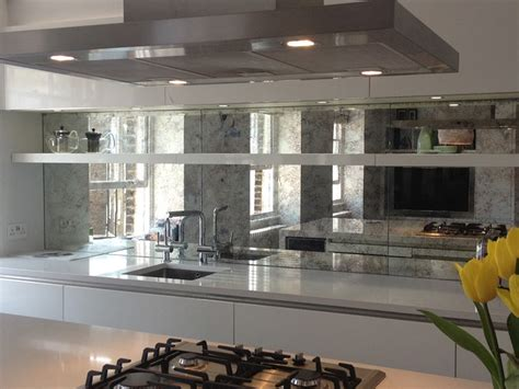 kitchen backsplash mirror mirrored backsplash in york jersey luxuryglassny