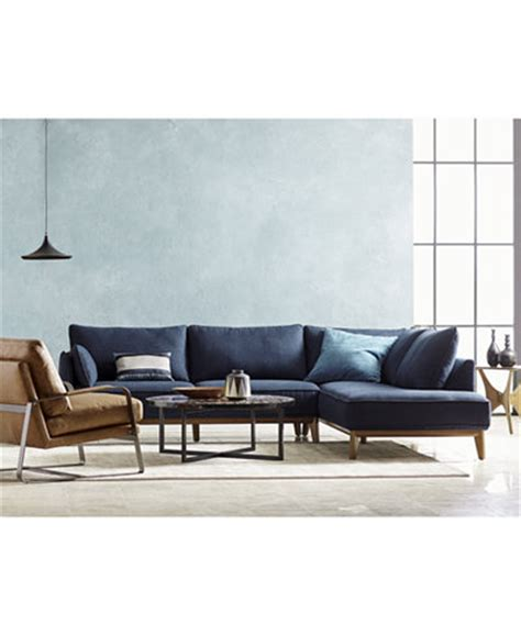 Macys Sectional by Jollene 113 Quot Fabric Sectional Collection Created For Macy