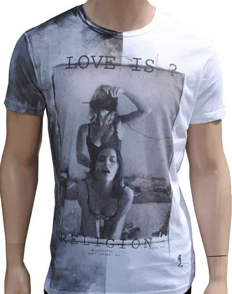 designer t shirt by religion clothing