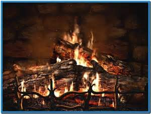 fireplace screensavers with sound free