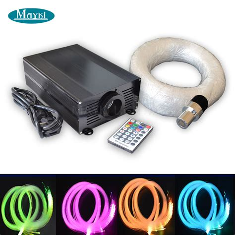 color changing fiber optic l aliexpress com buy maykit 45w led color changing starry
