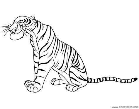 jungle book coloring pages disneyclipscom